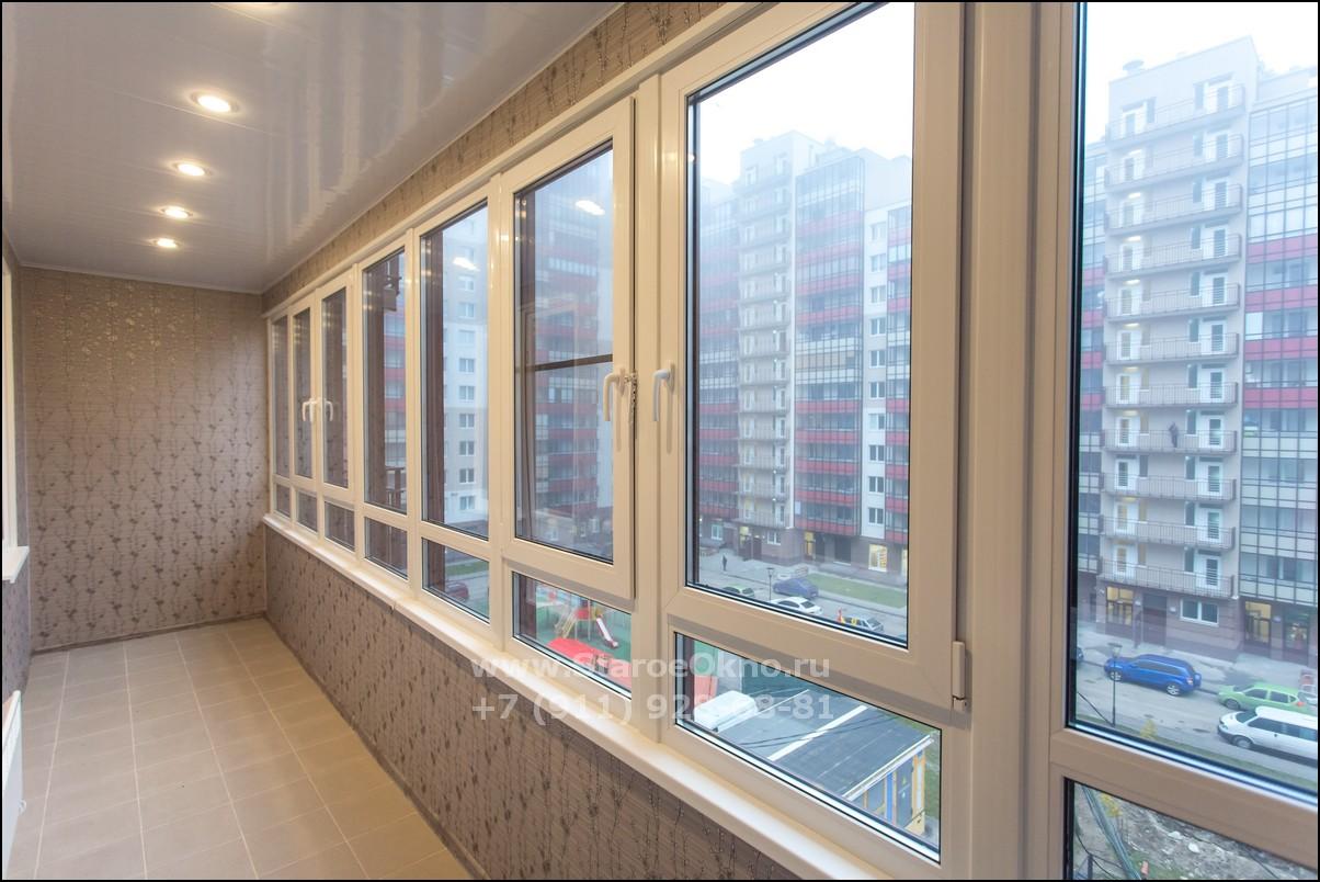 остекление балконов с отделкой картинки это один наиболее