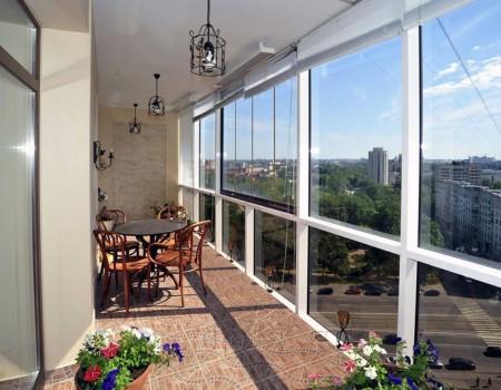 Отделка балконов и лоджий под ключ