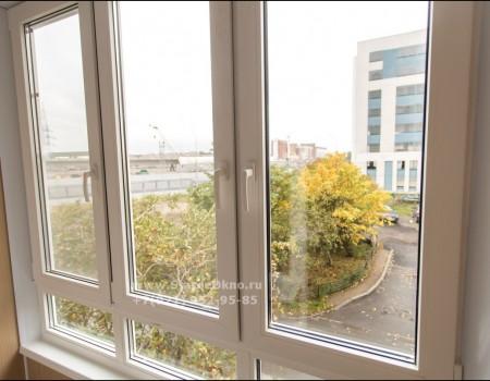 Замена холодного остекления балкона, Актёрский пр-д 6