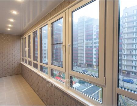 Остекляем балконы и лоджии под ключ в Санкт-Петербурге и Лен. области
