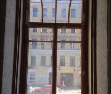 Реставрация деревянного окна В.О 9я-линия дом 30